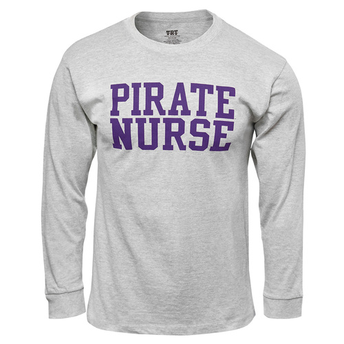 Oxford Long Sleeve Pirate Nurse Tee