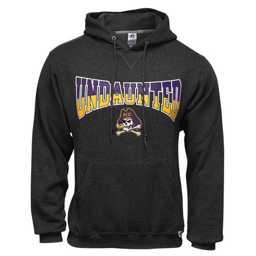 Charcoal Undaunted Jolly Roger Hoodie