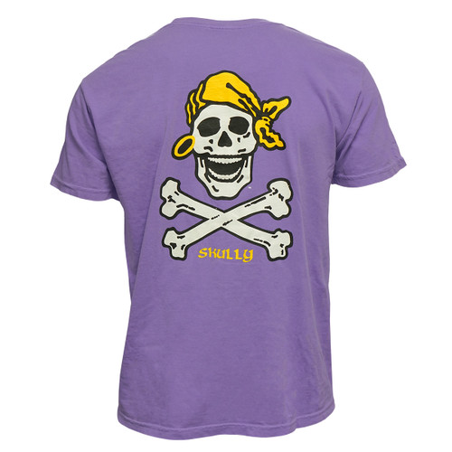 Violet Purple Skully Tee