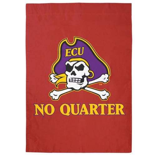 No Quarter Jolly Roger House Flag