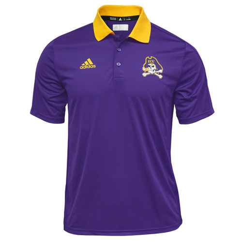 Purple with Gold Collar Jolly Roger Coaches Polo