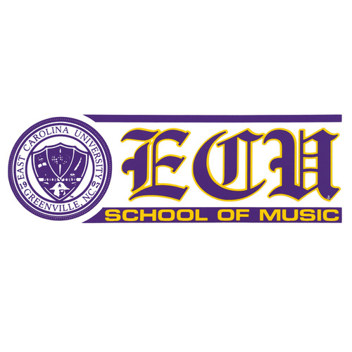 ECU School of Music Decal with Seal