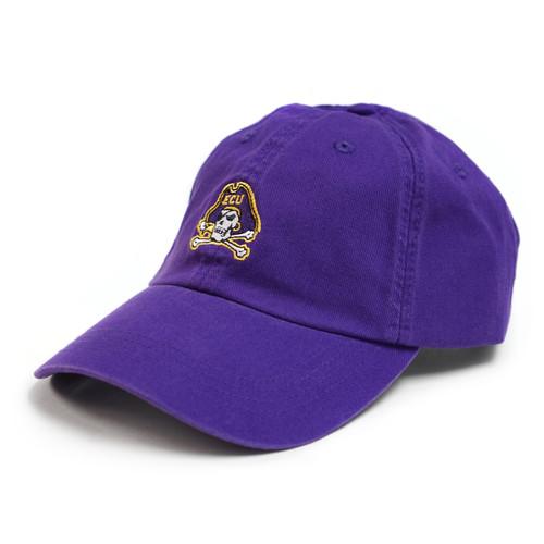 "Purple Mini Jolly Roger ""Dad"" Cap"