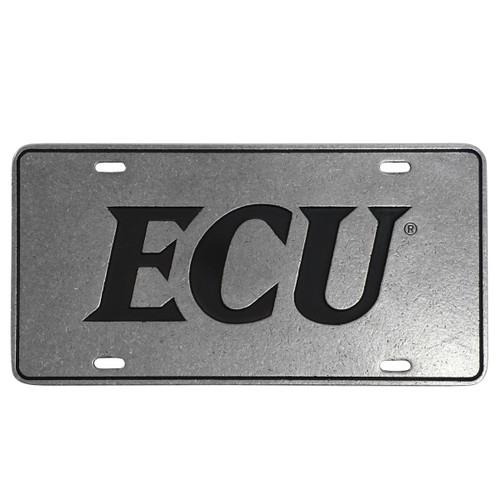 Pewter ECU License Plate