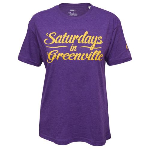Purple Saturdays in Greenville Tee