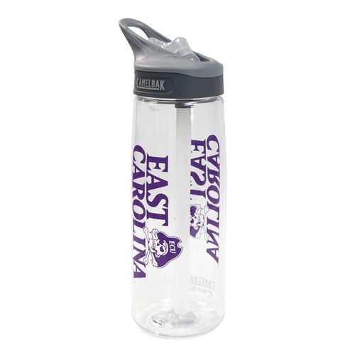 Clear East Carolina & Jolly Roger Water Bottle