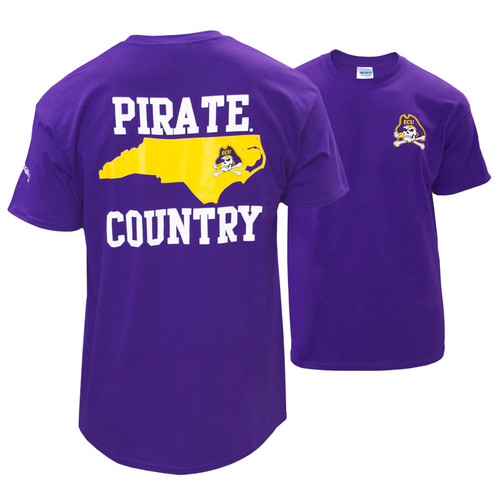 Purple Pirate Country & Jolly Roger Tee