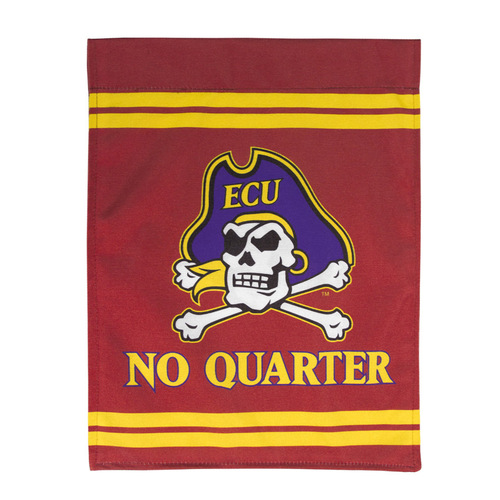 No Quarter Jolly Roger & Bars Garden Flag