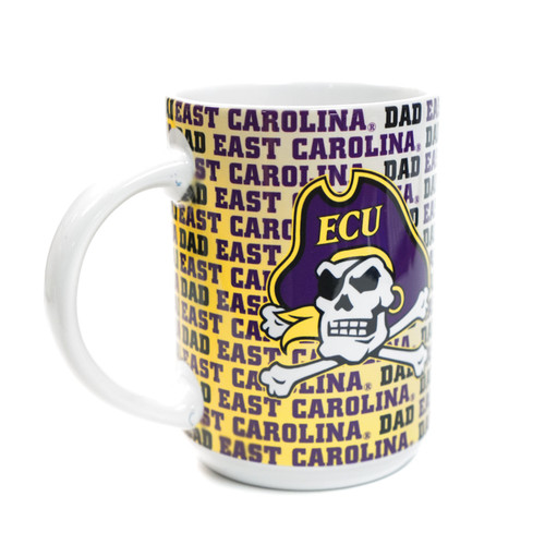 East Carolina Dad & Jolly Roger Coffee Mug