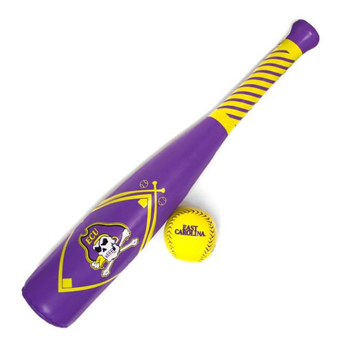 Soft Foam ECU Baseball Bat & Ball Set
