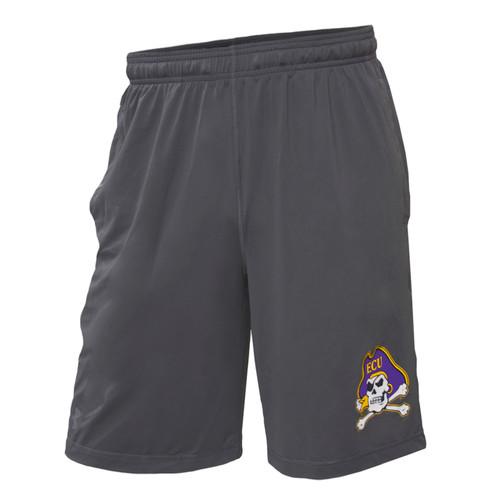Charcoal Grey Jolly Roger Athletic Shorts