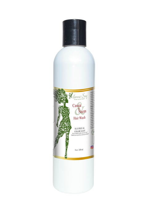 Cassia and Neem Ayurvedic Hair Wash