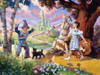 The Wizard of Oz - 350pc Family Jigsaw Puzzle by Cobble Hill