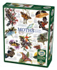 Moth Collection - 1000pc Jigsaw Puzzle by Cobble Hill