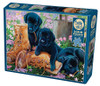 Trouble in the Garden - 500pc Jigsaw Puzzle By Cobble Hill