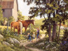 Summer Horses - 500pc Jigsaw Puzzle By Cobble Hill