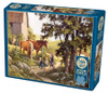 Summer Horses (new) - 500pc Jigsaw Puzzle By Cobble Hill