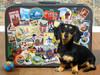 Dachshund 'Round the World - 500pc Jigsaw Puzzle by Cobble Hill