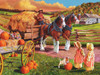 Hay Wagon - 275pc Easy Handling Puzzle by Cobble Hill