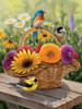 Summer Bouquet - 275pc Easy Handling Puzzle by Cobble Hill