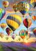 Hot Air Balloons - 1000pc Jigsaw Puzzle by Jack Pine