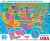 Map of the USA - 850pc Jigsaw Puzzle By Re-marks
