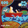 Night Ride - 500pc Large Format Jigsaw Puzzle By Re-marks