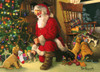 Santa's Lucky Stocking - 350pc Family Jigsaw Puzzle by Cobble Hill