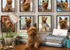 Yorkies Are My Type - 1000pc Jigsaw Puzzle by Cobble Hill