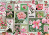 Pink Flowers - 1000pc Jigsaw Puzzle by Cobble Hill