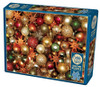 Christmas Balls - 500pc Jigsaw Puzzle By Cobble Hill
