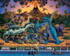 Dinosaur Museum - 500pc Jigsaw Puzzle by Dowdle