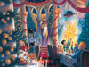 Christmas at Hogwarts 500 - 500pc Jigsaw Puzzle by New York Puzzle Company