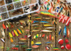 Fishing Lures - 1000pc Jigsaw Puzzle By Cobble Hill