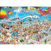 Crowd Pleasers: The Beach - 1000pc Jigsaw Puzzle by Ceaco