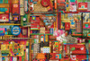 Vintage Art Supplies - 2000pc Jigsaw Puzzle by Cobble Hill (discon-23308)