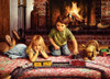 Firelight Express - 1000pc Jigsaw Puzzle by Cobble Hill (discon-23337)