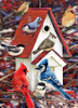 Winter Birdhouse - 1000pc Jigsaw Puzzle by Cobble Hill (discon-23341)