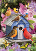 Spring Birdhouse - 1000pc Jigsaw Puzzle by Cobble Hill (discontinued)