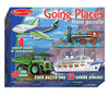 Melissa and Doug Floor Jigsaw Puzzles For Kids - Going Places