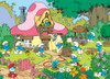 The Smurfs: Spring Cleaning at Smurfette's - 500pc Jigsaw Puzzle by Cobble Hill