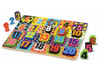 Jumbo Numbers - 20pc Wooden Children's Puzzle By Melissa & Doug (discon)