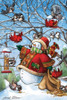 Frosty Feeds His Friends - 48pc Floor Puzzle by Cobble Hill