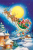 Santa on a Moonlit Night - 60pc Kids Puzzle by Cobble Hill (discon-23434)