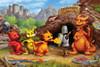 Dragon School - 60pc Kids Puzzle by Cobble Hill (discon-22616)