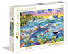 Tropical Dolphins - 500pc Jigsaw Puzzle by Clementoni