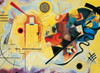 "Clementoni Kandinsky ""Yellow-Red-Blue"" Jigsaw Puzzle"