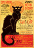 Chat Noir Vintage Poster - 1000pc Jigsaw Puzzle by D-Toys