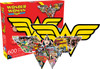 Wonder Woman Logo - 600pc Double-sided Shaped Jigsaw Puzzle by Aquarius