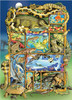 Reptiles and Amphibians - 350pc Family Jigsaw Puzzle by Cobble Hill